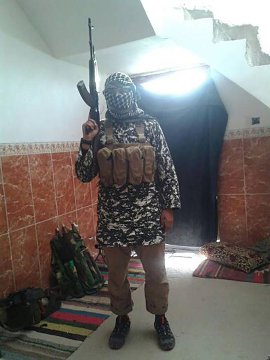 Omar in de Iraakse stad Fallujah.
