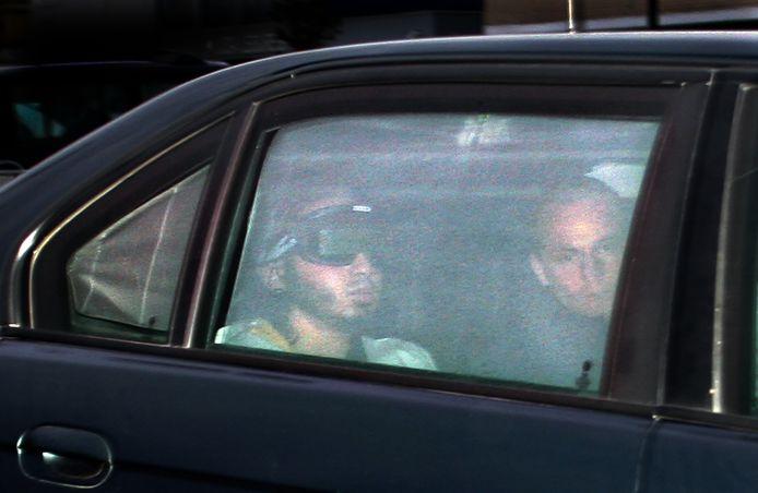 Samir A. wordt aangevoerd bij een eerdere rechtszaak tegen hem.