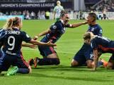 Lyon wint Champions League na hoofdrol Van de Sanden