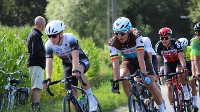 """Jenno Berckmoes knap derde in Tour de Pays Lionnais: """"Eindelijk een sportieve opsteker"""""""