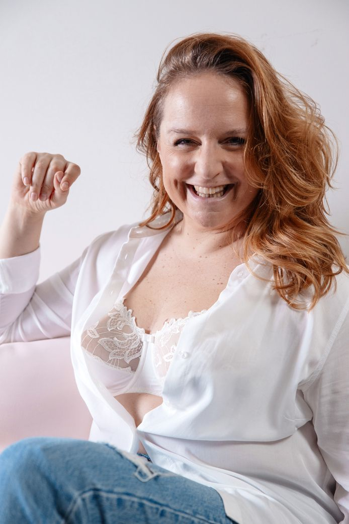 'Body awareness'-activiste en visagiste Sabine Peeters.