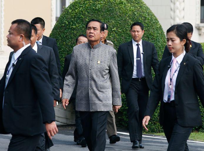 De Thaise premier Prayut Chan-o-cha.