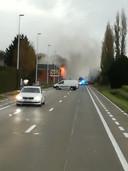 Uitslaande woningbrand op Leuvensesteenweg in Kortenberg