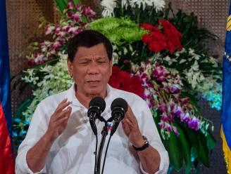 """Filipijnse president: """"Ik eet terroristen levend op, met een beetje zout erbij"""""""