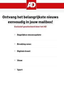 Elke dag al het nieuws uit Amersfoort in je mailbox? Schrijf je in!