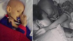 Kankerpatiëntje (5) verontschuldigt zich voor hij sterft in armen van zijn mama