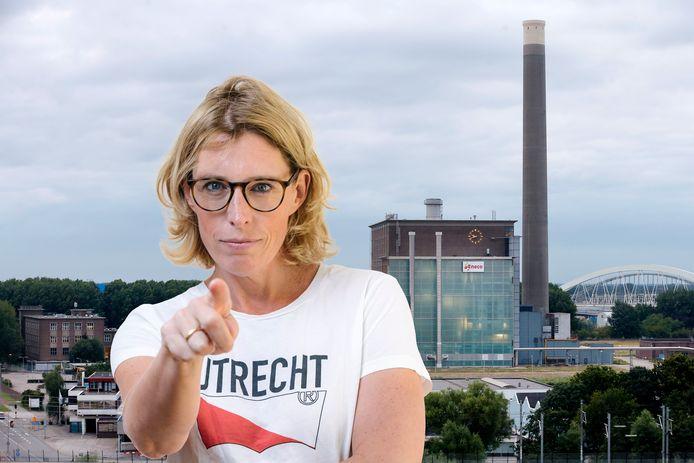 Columniste Marieke Dubbelman schrijft over de biomassacentrale van Eneco in Utrecht, Lage Weide
