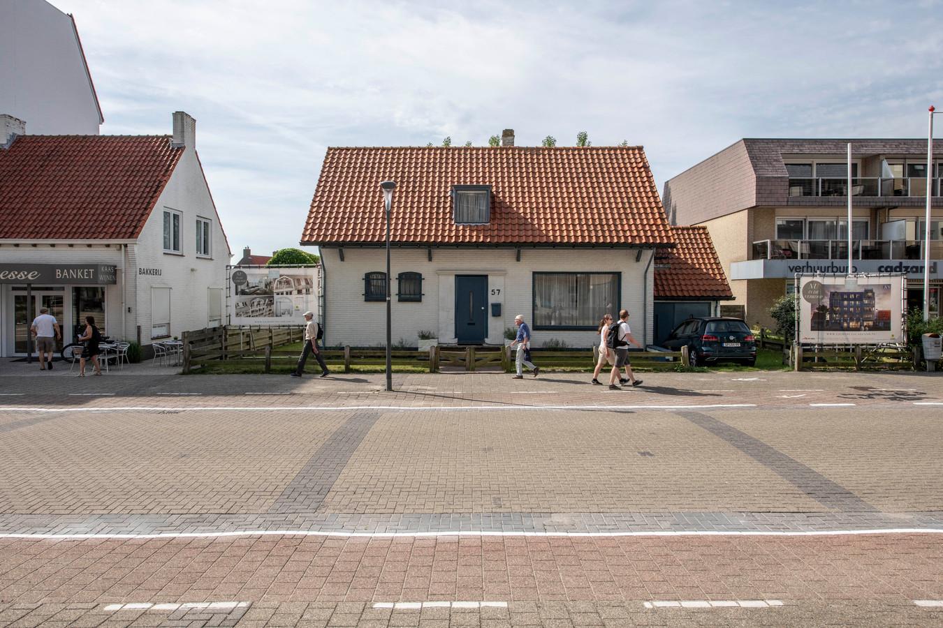 Op deze plaats, hier op archiefbeeld van vorig jaar, komt het Lichthuys.