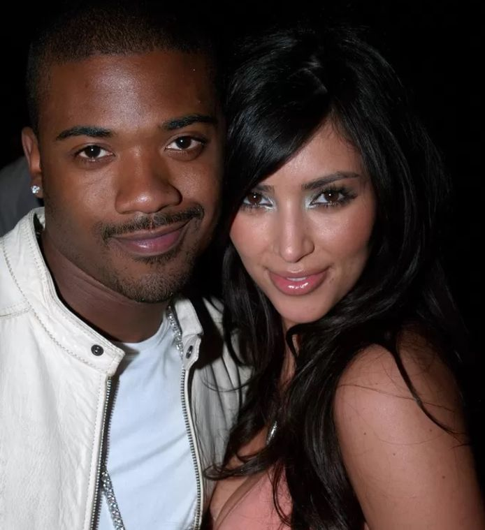 Ray J et Kim Kardashian.