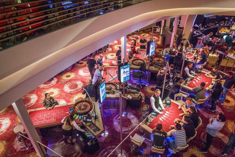 Vlakbij Station Sloterdijk opende Holland Casino een nieuwe vestiging ter vervanging van de Schiphol-vestiging.  Beeld Dingena Mol
