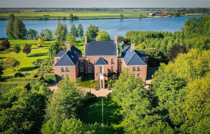 Het huis dat te koop staan in Mijnsheerenland.