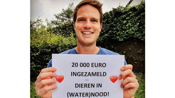 Inzameling voor door overstromingen getroffen dieren is groot succes: teller al op ruim 20.000 euro