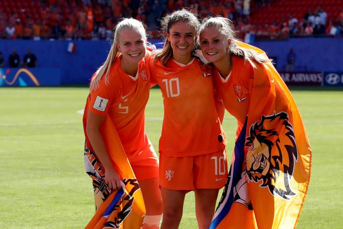 Oranje is nog twee overwinningen verwijderd van de wereldtitel.