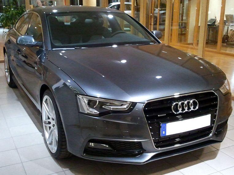 De Audi A5 Sportback.