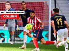 Column Willem van Hanegem | Bij Atlético Madrid moest ik vaak aan De Graafschap denken