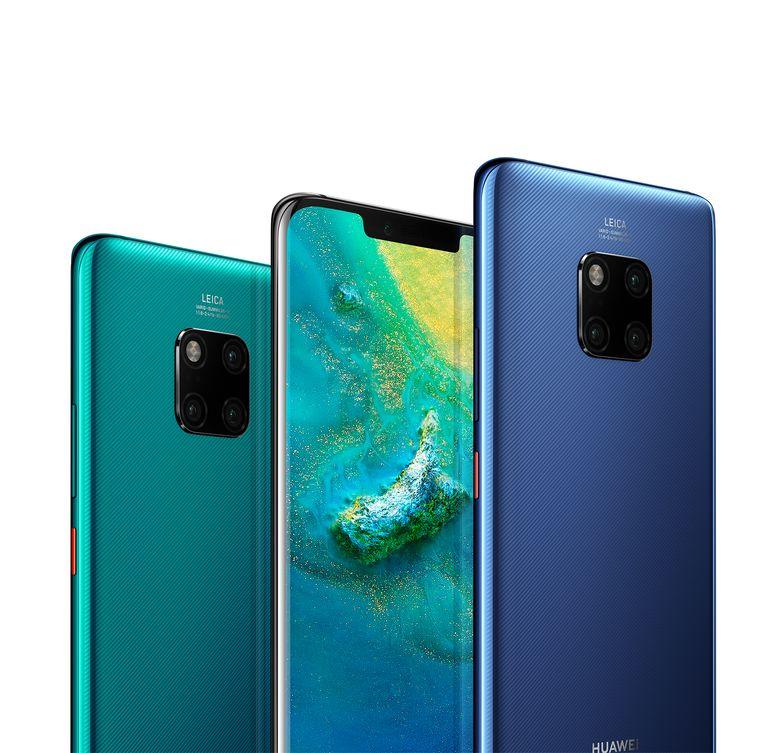 Huawei's Mate 20 en diens eveneens spectaculaire camera's. Hij is niet de duurste, maar moet ook weer niet zò veel onderdoen voor de krachtigere Pro-versie.