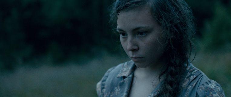 Lene Cecilia Sparrok als Elle-Marja in 'Sami Blood'. Beeld Cinemien