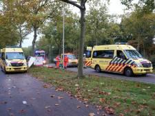 Gewonde met spoed naar ziekenhuis na aanrijding in Oss