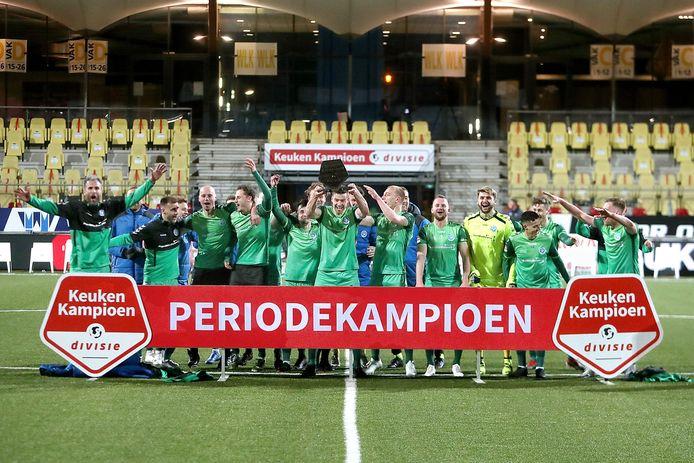 De graafschap kroonde zich met de overwinning op Telstar tot kampioen van de derde periode.