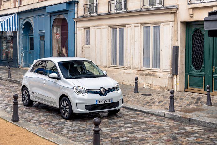 De elektrische Renault Twingo.
