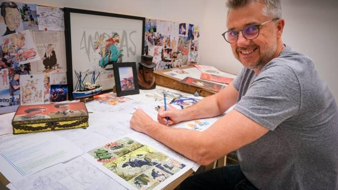 """Expo rond striptekenaar Charel Cambré landt in Brussel: """"Mijn werk heeft soms een kritische ondertoon, maar het moet vooral plezant blijven"""""""