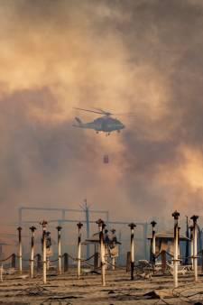 Nijmeegse Elisabeth ziet verwoestende bosbranden in Italië van dichtbij: 'Zo'n vuurzee heb ik nog niet eerder gezien'