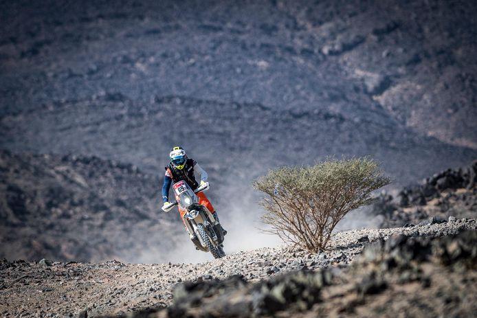 Walter Roelants is doodmoe, maar wil absoluut doorgaan toe het einde in de Dakar.