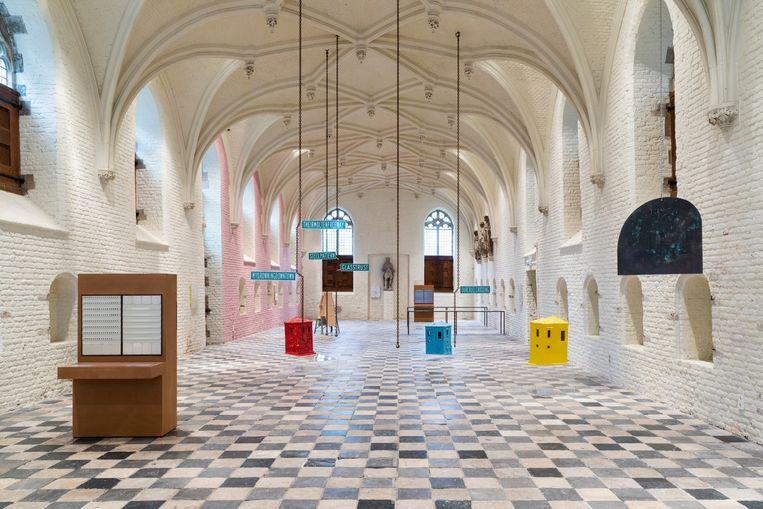 De Vleeshal in Middelburg: de winkel is open, de showroom is gratis te bezichtigen. Beeld Gunnar Meier