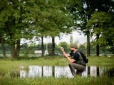 Dankzij alle regen geen neerslagtekort meer, Boswachter Tim kan zijn geluk niet op