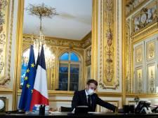 Biden belt Macron als eerste leider van EU-land