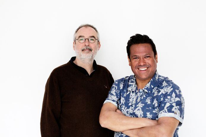 Ronald Giphart en Danny Jansen.
