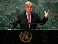 """Le secrétaire général de l'Onu Guterres met en garde contre un """"avenir infernal"""""""