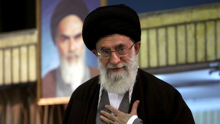Ayatollah Ali Khamenei Beeld REUTERS