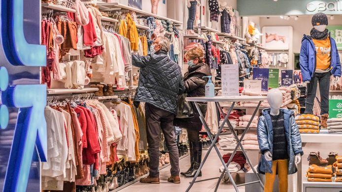 illustratiebeeld van een winkel in Kortrijk