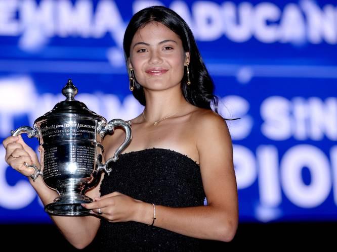 """Grootmoeder US Open-winnares Raducanu: """"Ik wilde dat Emma stopte met tennissen"""""""