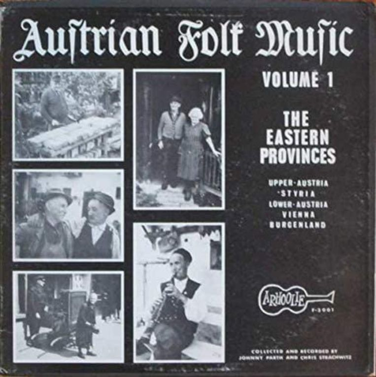'Austrian Folk Music Volume 1: The Eastern Provinces' (1967) Beeld RV