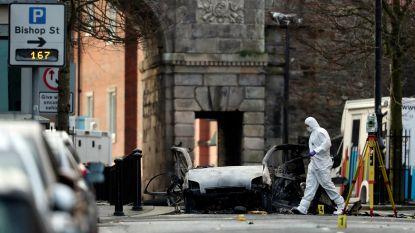 Vier mannen gearresteerd in verband met bomauto in Noord-Ierland