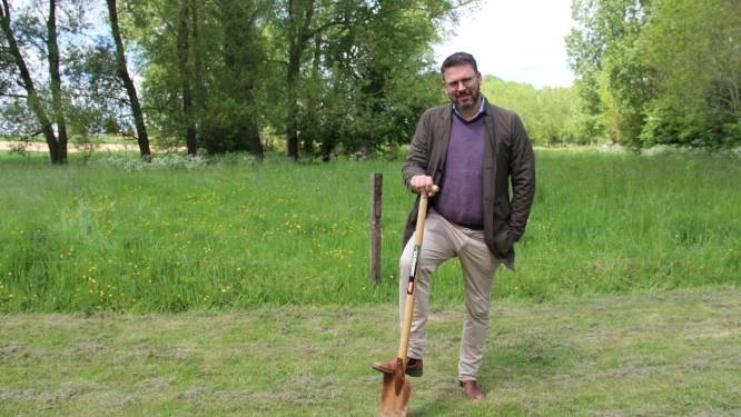 Verkiezingsbelofte maakt schuld: Vlaams Parlementslid Joris Nachtergaele lanceert gratis boomplantactie