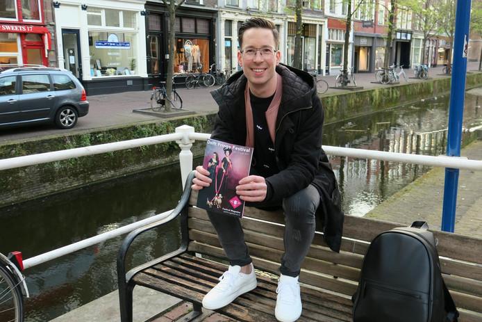 Roel Funcken, directeur van het Delft Fringe Festival.