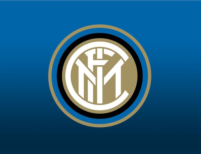 Het huidige logo van Internazionale.