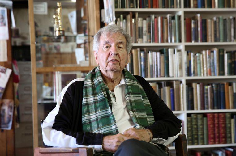 Larry McMurtry in 2014. Hij stierf afgelopen voorjaar.  Beeld AP