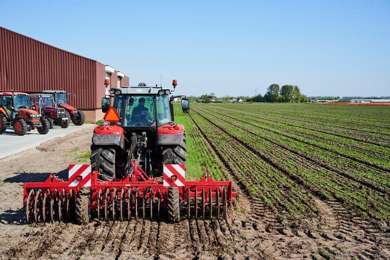 Het Apeldoornse bedrijf Royal Reesink verkoopt onder meer machines voor de landbouw. Beeld Hollandse Hoogte / Nederlandse Freelancers
