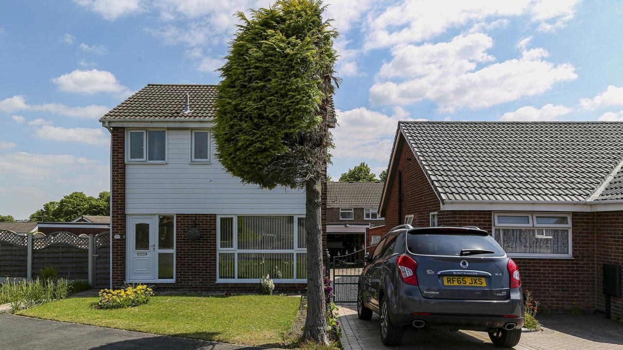 Un arbre a été coupé en deux à cause d'un conflit de voisinage en Angleterre.