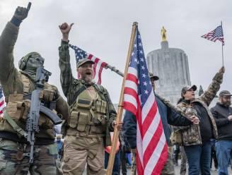 """De soldaten van Trump zijn pas begonnen: """"We krijgen onze president of we sterven"""""""