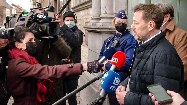 De 'Telefacts nu'-uitzending over Bart De Pauw schoot bij veel VRT-medewerkers in het verkeerde keelgat. Beeld VTM