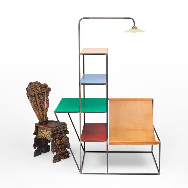 '10 jaar Muller Van Severen' in het Design Museum Gent. Beeld rv