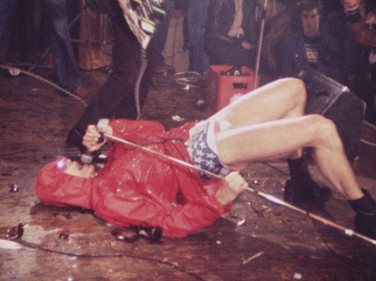 Opnames van het concert van Panic in 1978 in zaal Kunstmin in Gouda vormen de basis van Jimmy is punk.  Beeld