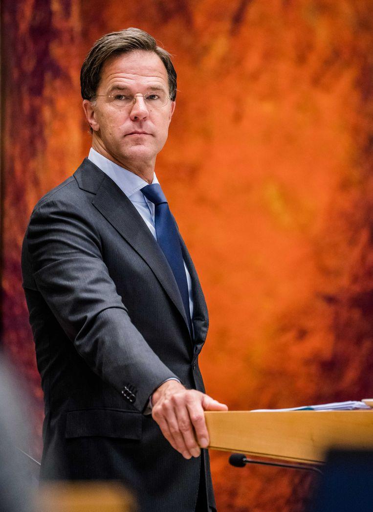 Rutte in 2020. Een paar maanden geleden merkte hij op dat Nederland 'een diep socialistisch' land is, en dat hij dat prima vindt.  Beeld ANP