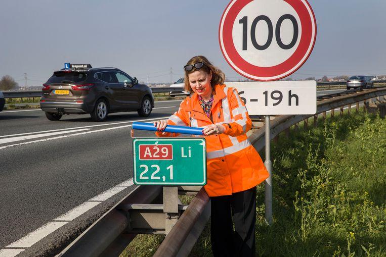 Minister Cora van Nieuwenhuizen van Infrastructuur en Waterstaat. Beeld ANP / Hollandse Hoogte