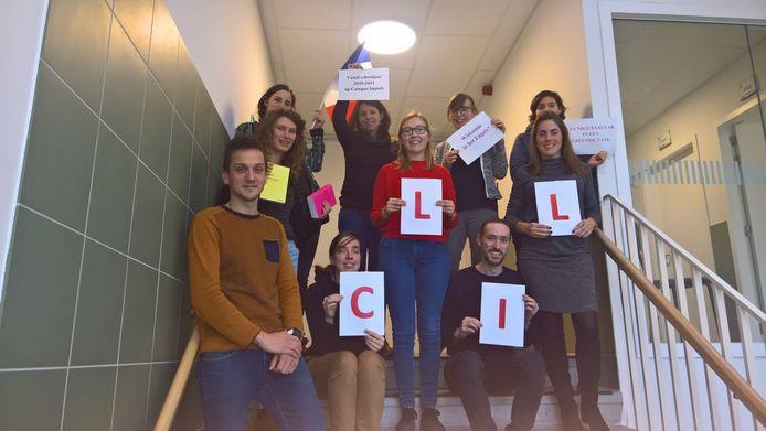 Campus Impuls heeft een ijzersterke reputatie: het voorbije jaar schoolden tien leerkrachten zich om volgend schooljaar voor CLIL-onderwijs: dat is het geven van een vak zoals geschiedenis in het Engels of Frans.